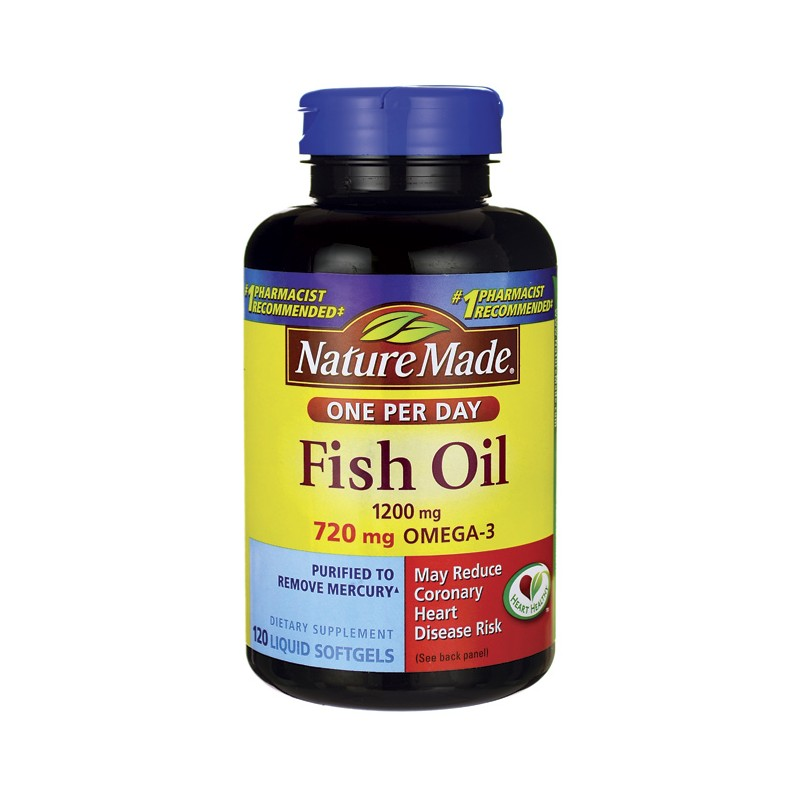 Nature Made Fish Oil One Per Day