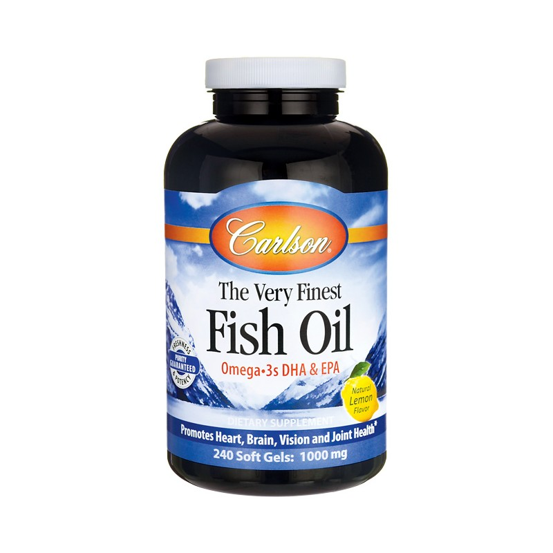 The very finest fish oil 1 000 mg 240 sgels for Fish oil memory