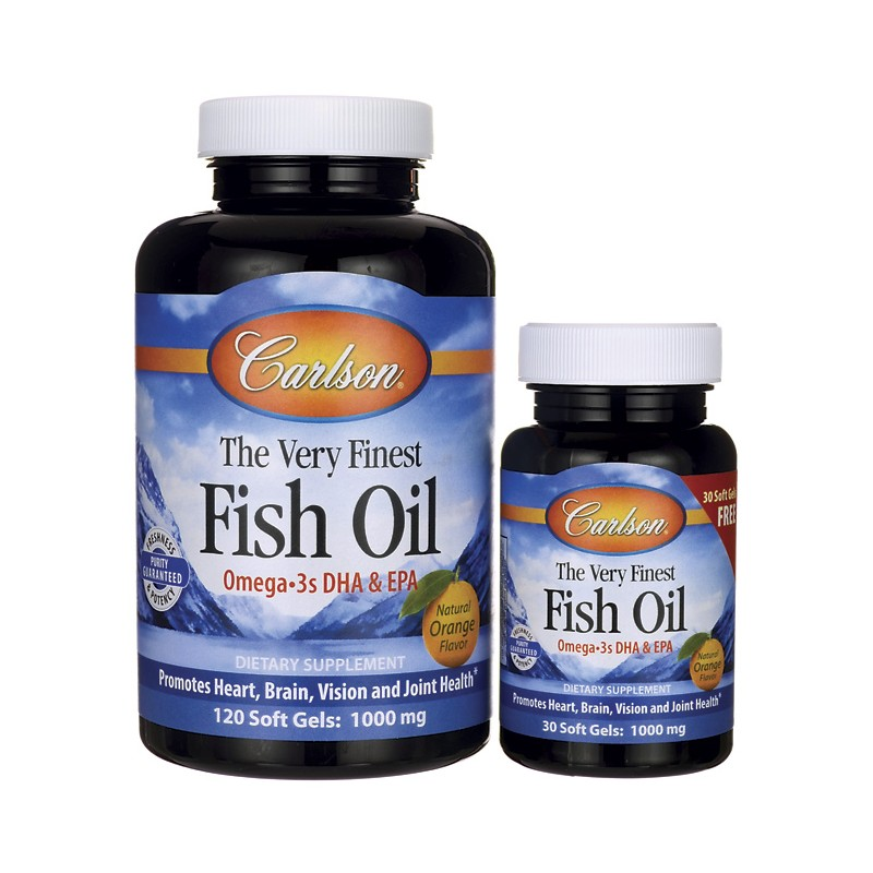 The very finest fish oil 120 30 free sgels for Does fish oil help with weight loss