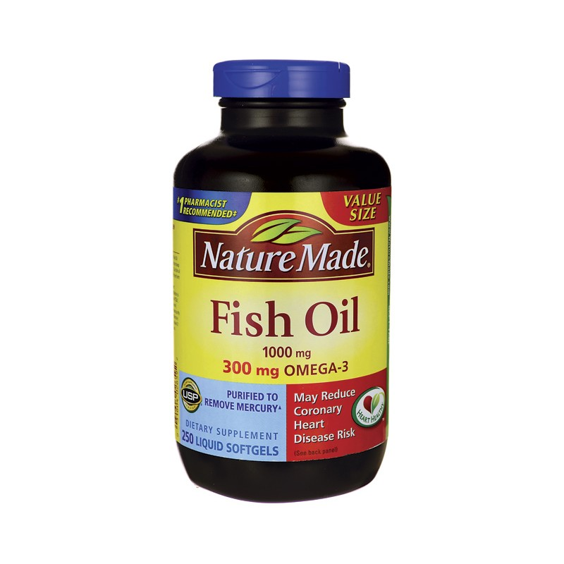 Fish oil 1 000 mg 250 sgels for Fish oil 1000 mg