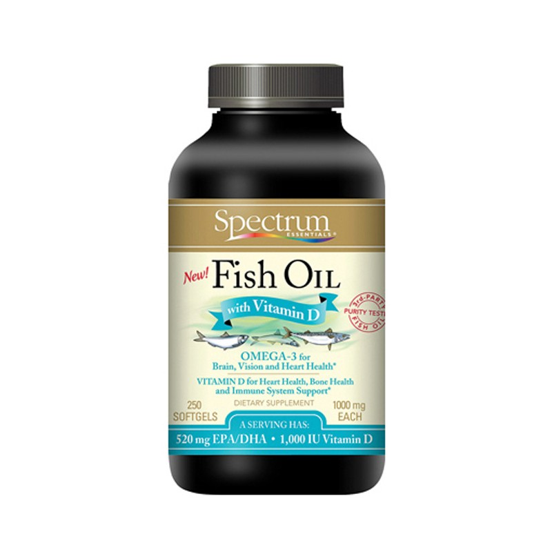 Fish oil with vitamin d 250 sgels for Vitamin d fish