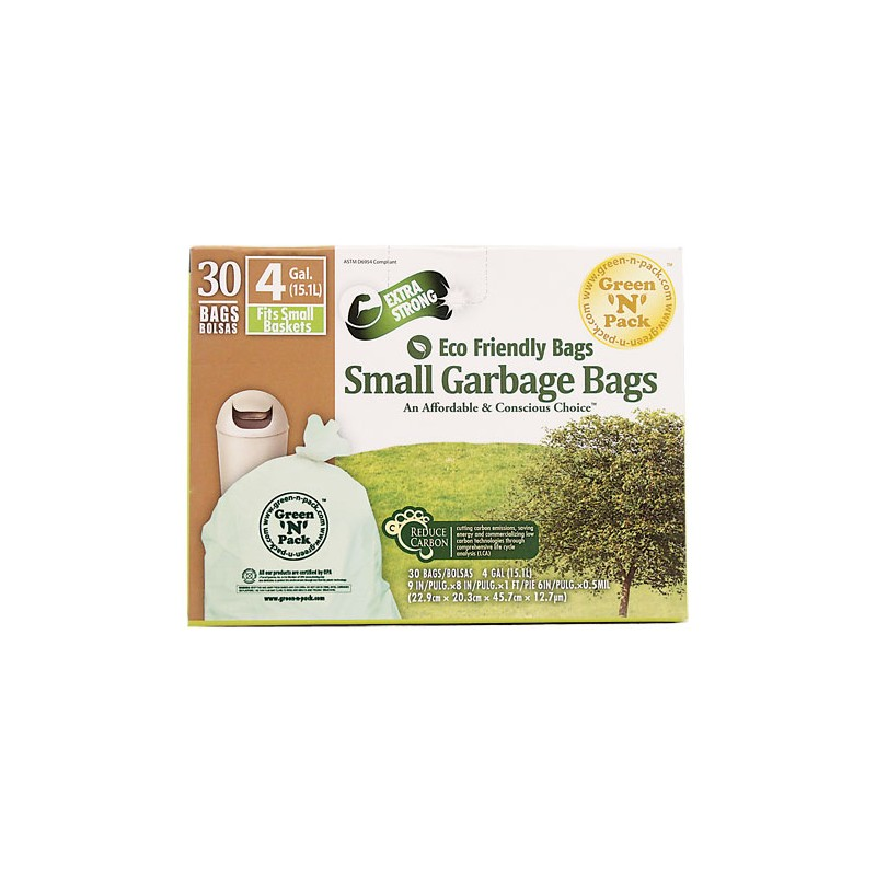 Small Garbage Bags : Eco friendly bags small garbage gallon bag s
