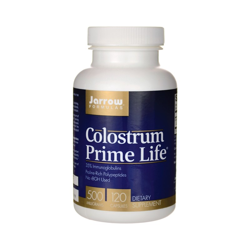 Colostrum Prime Life, 500 Mg 120 Caps