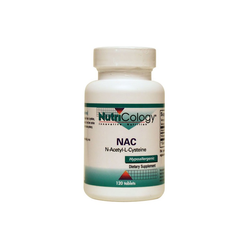 nutricology nac nacetylcysteine 120 tabs. Black Bedroom Furniture Sets. Home Design Ideas