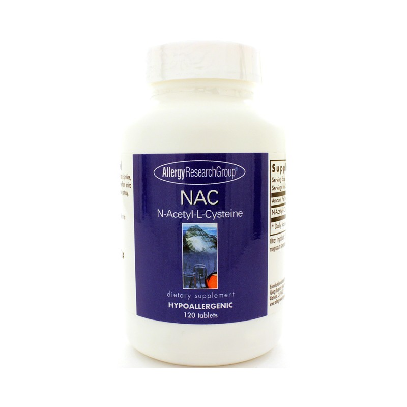 nac nacetyllcysteine 500 mg 120 tabs. Black Bedroom Furniture Sets. Home Design Ideas