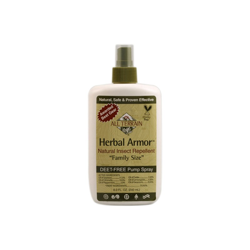 Herbal Armor Natural Insect Repellent Family Size Spray, 8