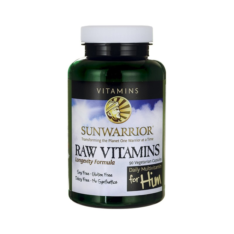 Raw vitamins for men