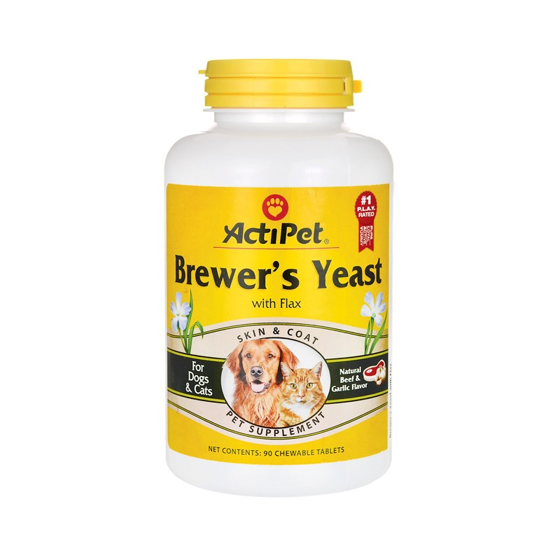 Brewers yeast powder dogs