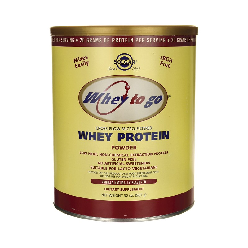 Whey to go whey protein