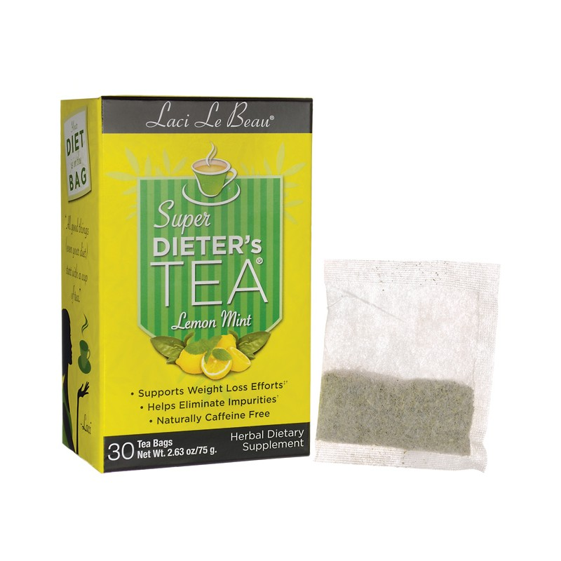 Super Dieters Tea Lemon Mint, 30 Bag(s)