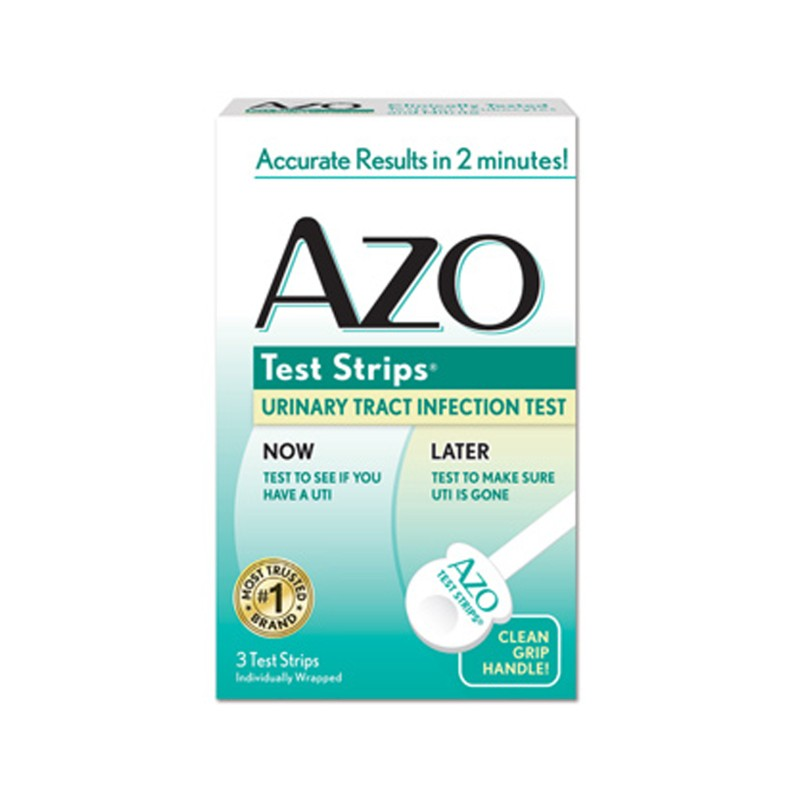 Ass ever Azo multiple test strips aunt was