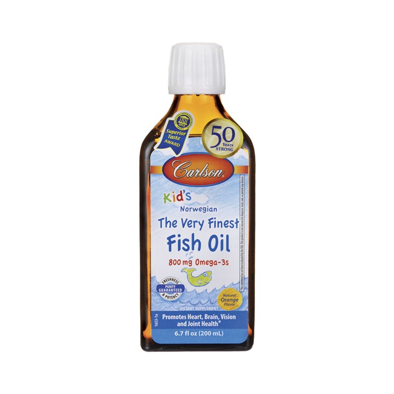 Kids the very finest norwegian fish oil orange 6 7 fl oz for Fish oil for toddlers speech delay