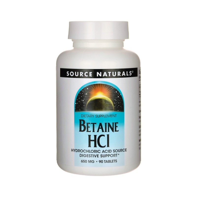betaine hcl how to take