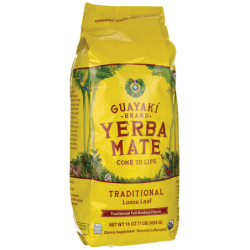 Yerba Mate Traditional Loose Leaf, 16 oz (454 grams) Pkg
