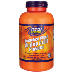 Branched Chain Amino Acid Powder, 12 oz (340 grams) Pwdr