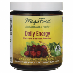 Daily Energy Nutrient Booster Powder, 1.86 oz Pwdr