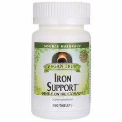 Vegan True Iron Support, 180 Vegan Tabs