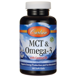 MCT & Omega3 with Coconut Oil, 60 Sgels