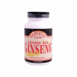 Chinese Red Ginseng, 100 Caps