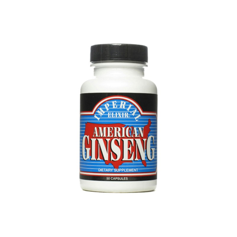 American Ginseng, 50 Caps