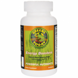 Greens Today Energy Boosters, 60 Chwbls