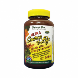 Ultra Source of Life with Lutein, 180 Tabs