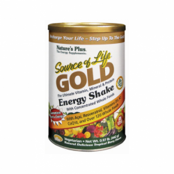 Source of Life Gold Energy Shake Tropical Berry Flavor, .97 lb Pwdr