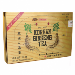 Instant Korean Ginseng Tea, 100 Bag(s)