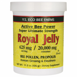 Active Bee Power Royal Jelly In Honey, 625 mg 11.5 oz (326 grams) Paste