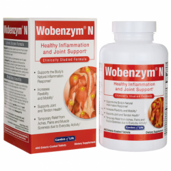 WobenzymN Healthy Inflammation and Joint Support, 400 Tabs