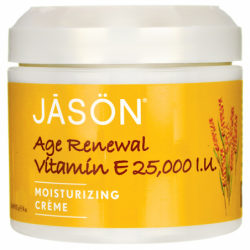 Vitamin E Age Renewal Moisturizing Crme, 25,000 IU 4 oz (113 grams) Cream