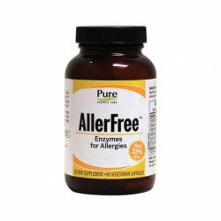 AllerFree Enzymes for Allergies, 60 Veg Caps
