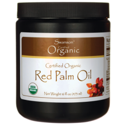 Red Palm Oil, Certified Organic, 16 fl oz (473 ml) Solid Oil