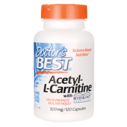 AcetylLCarnitine with BIOSINT, 500 mg 120 Caps