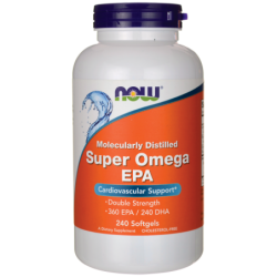 Molecularly Distilled Super Omega EPA, 240 Sgels