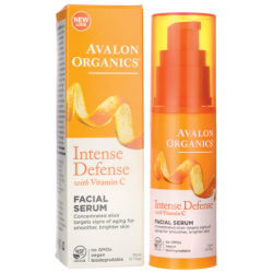 Intense Defense with Vitamin C Facial Serum, 1 fl oz (30 mL) Serum