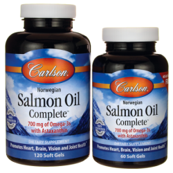 Norwegian Salmon Oil Complete, 1,250 mg 120 + 60 Sgels