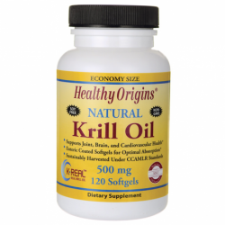 Natural Krill Oil, 500 mg 120 Sgels
