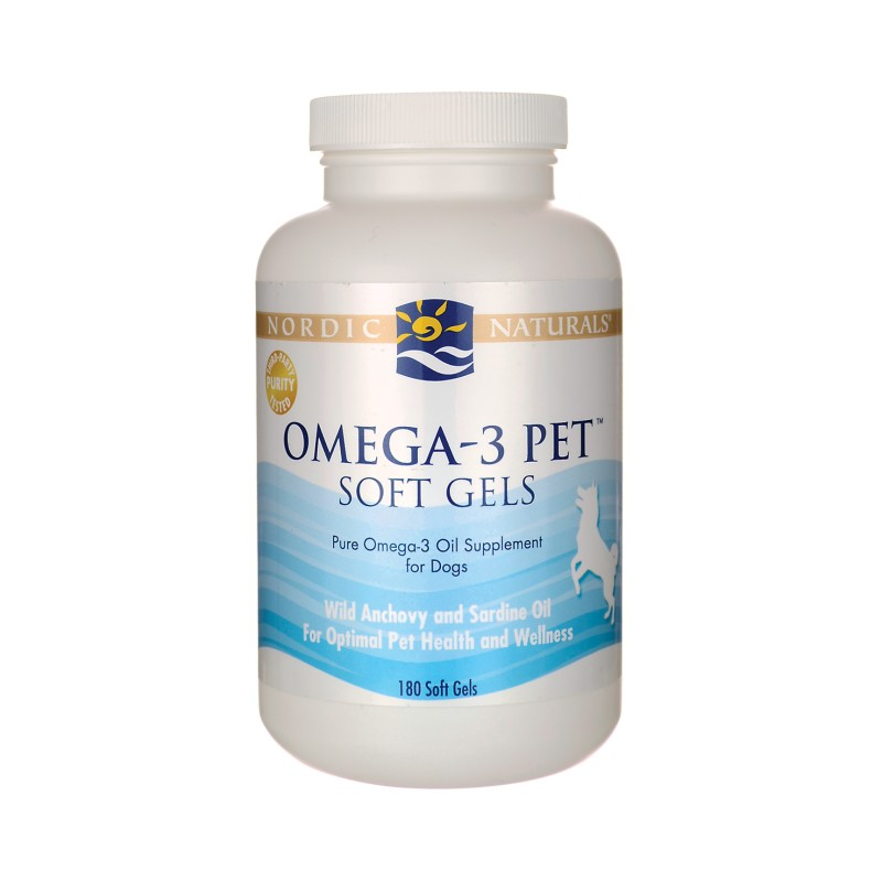 Omega3 Pet Soft Gels for Dogs, 180 Sgels