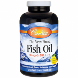 The Very Finest Fish Oil, 1,000 mg 240 Sgels