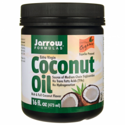 Coconut Oil Extra Virgin, 16 fl oz (473 mL) Solid Oil