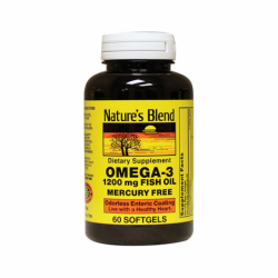 Omega3 Fish Oil Mercury Free, 60 Sgels