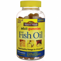 Adult Gummies Fish Oil, 150 Gummies