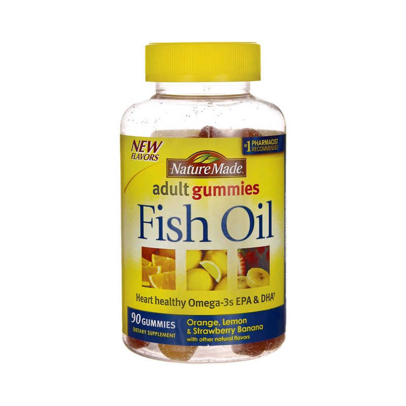 Adult gummies fish oil 90 gummies for Nature made fish oil gummies