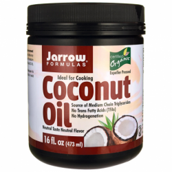 Coconut Oil, 16 fl oz (473 mL) Solid Oil