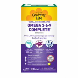 Ultra Concentrated Omega 369, 180 Sgels