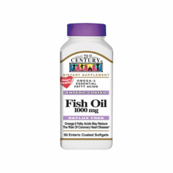 Enteric Coated Omega3 Fish Oil, 90 Sgels