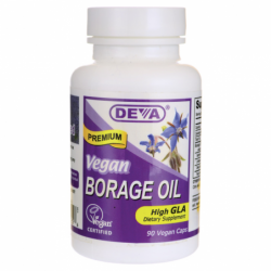 Vegan Borage Oil, 90 Caps