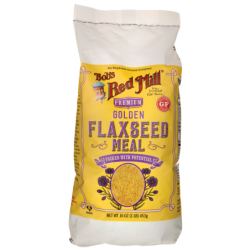 Golden Flaxseed Meal, 16 oz (453 grams) Pkg