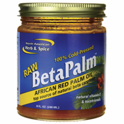 BetaPalm African Red Palm Oil, 8 fl oz Solid Oil